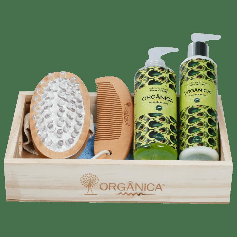 Kit Banho Orgânica Suave (5 produtos)