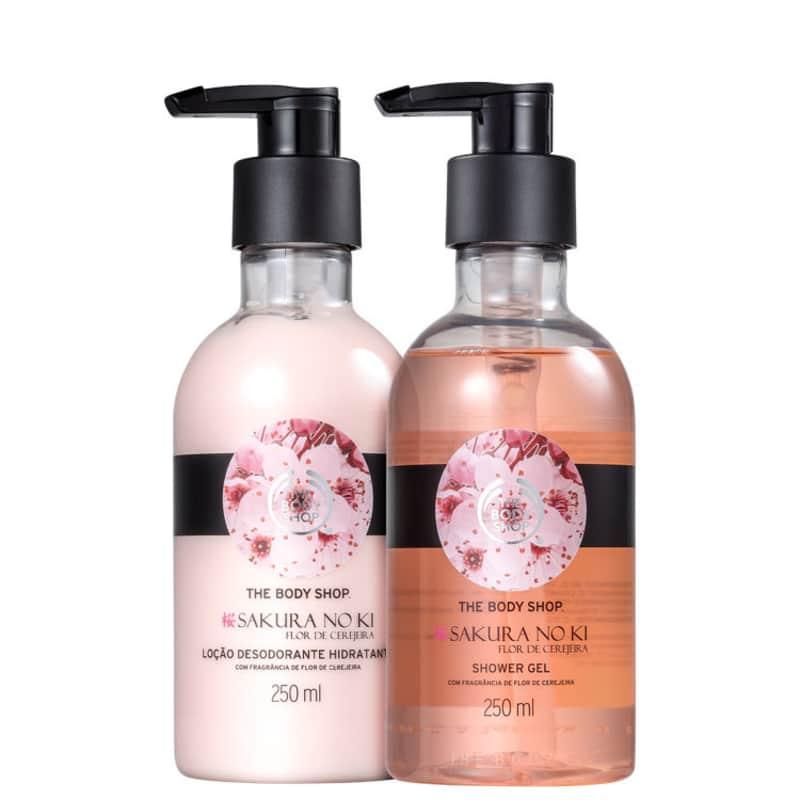 Kit Banho The Body Shop Sakura No Ki Duo (2 Produtos)