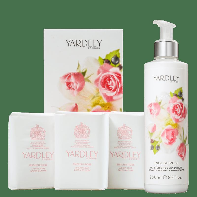 Kit Banho Yardley English Rose (2 Produtos)