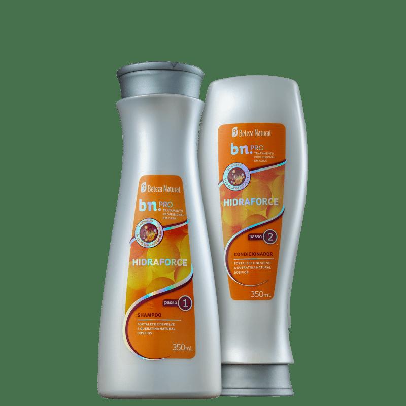 Kit Beleza Natural Bn.Pro Hidraforce Duo (2 produtos)
