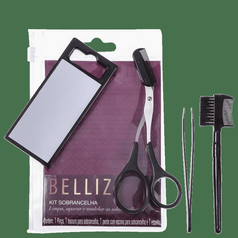 Kit Belliz de Acessórios para Sobrancelha (4 produtos)
