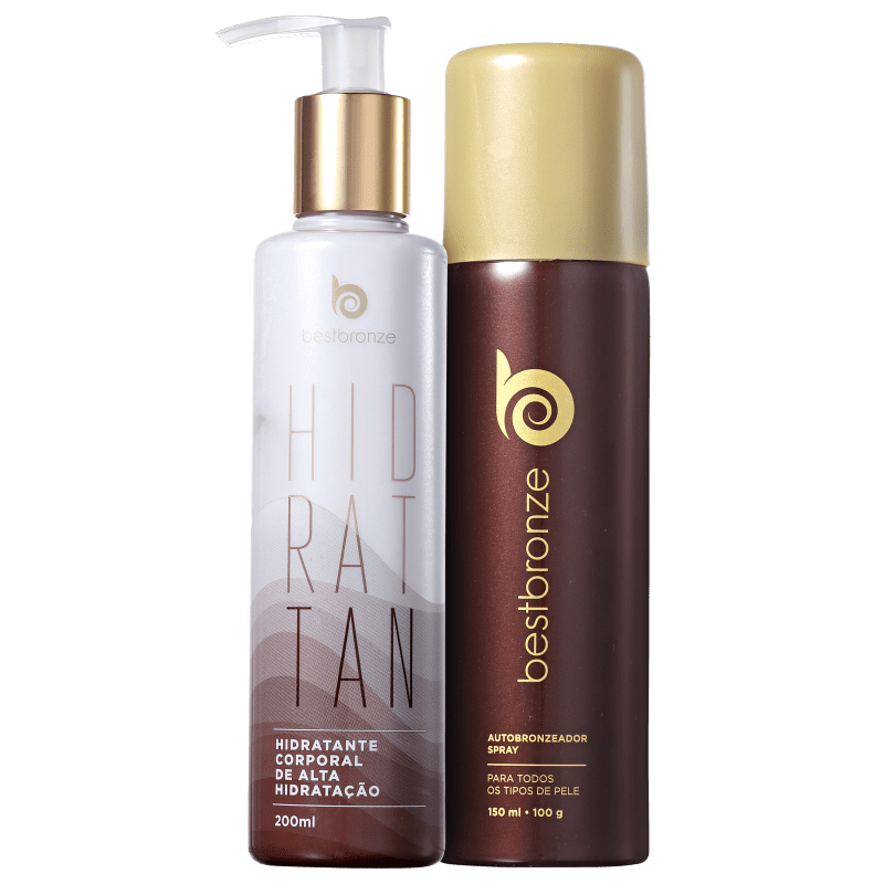 Kit Best Bronze Hidrattan Sem Sol (2 produtos)