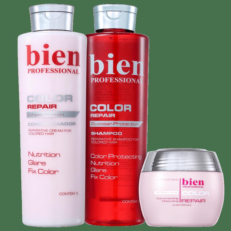 Kit Bien Professional Vitamino Color Salon Trio (3 Produtos)