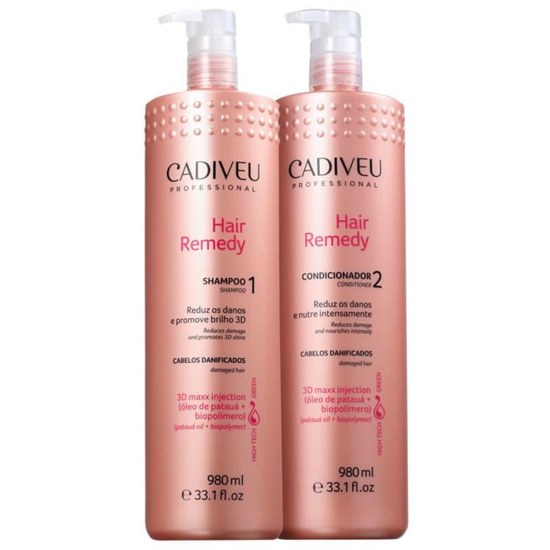 Kit Cadiveu Professional Hair Remedy Salon (2 Produtos)