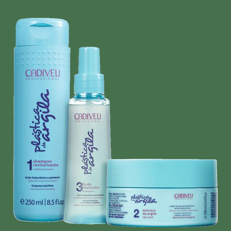 Kit Cadiveu Professional Plástica de Argila Home Care (3 Produtos)