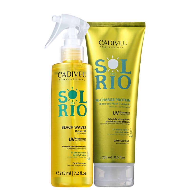 Kit Cadiveu Professional Sol do Rio Ondas Naturais (2 Produtos)
