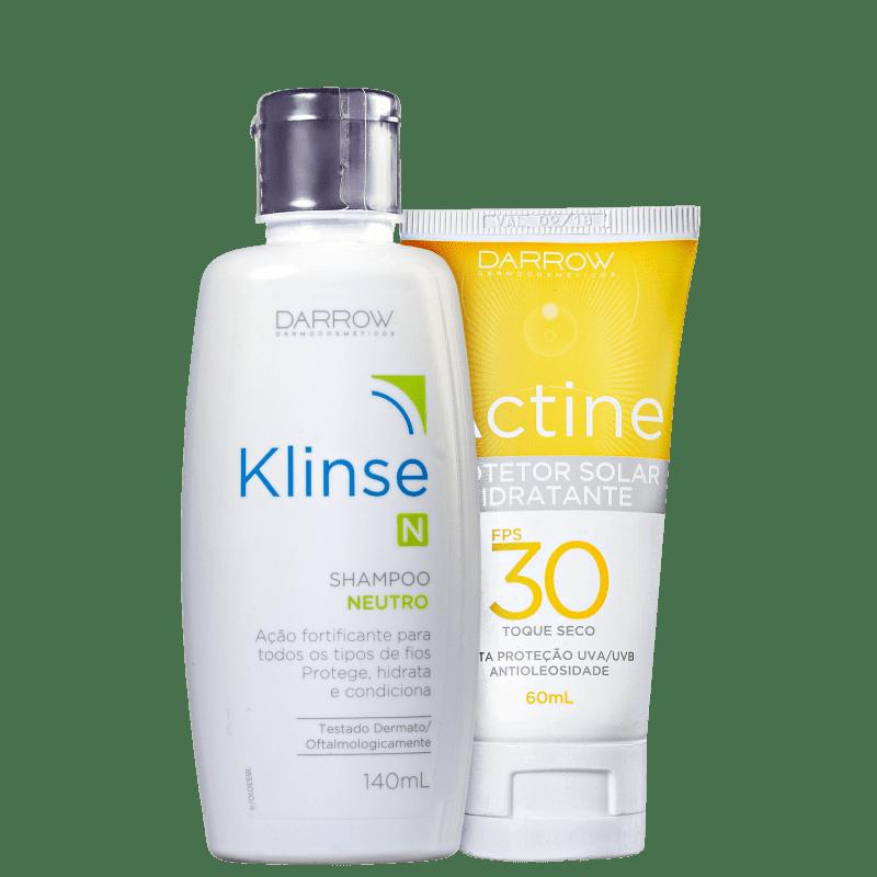 Kit Darrow Klinse Hair Actine (2 produtos)