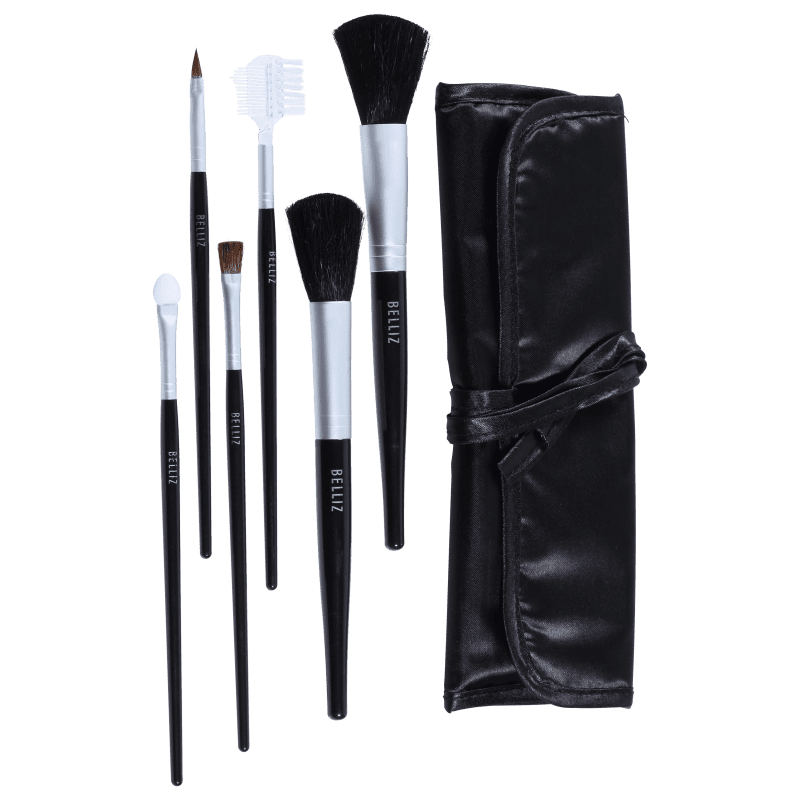 Kit de Pincéis Belliz Professional Cosmetic Brushes