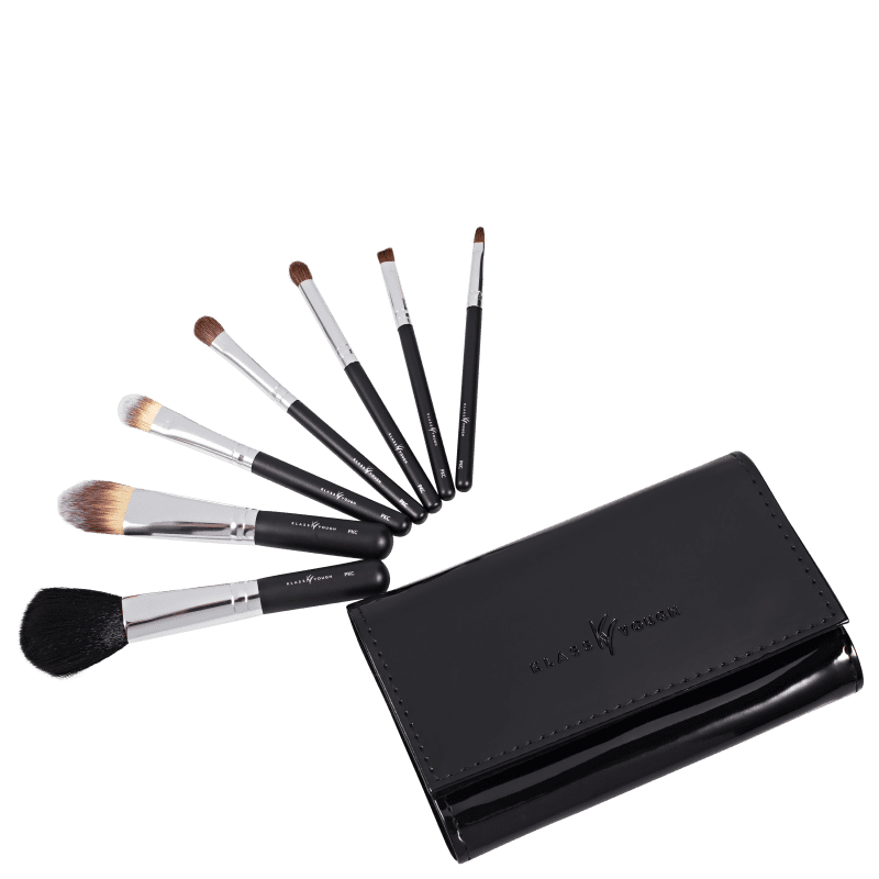 Kit de Pincéis Klass Vough Pocket Classic Preto 7un