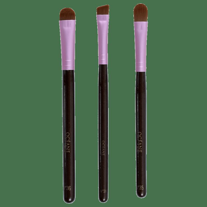 Kit de Pincéis Océane Eye Brushes (3 produtos)