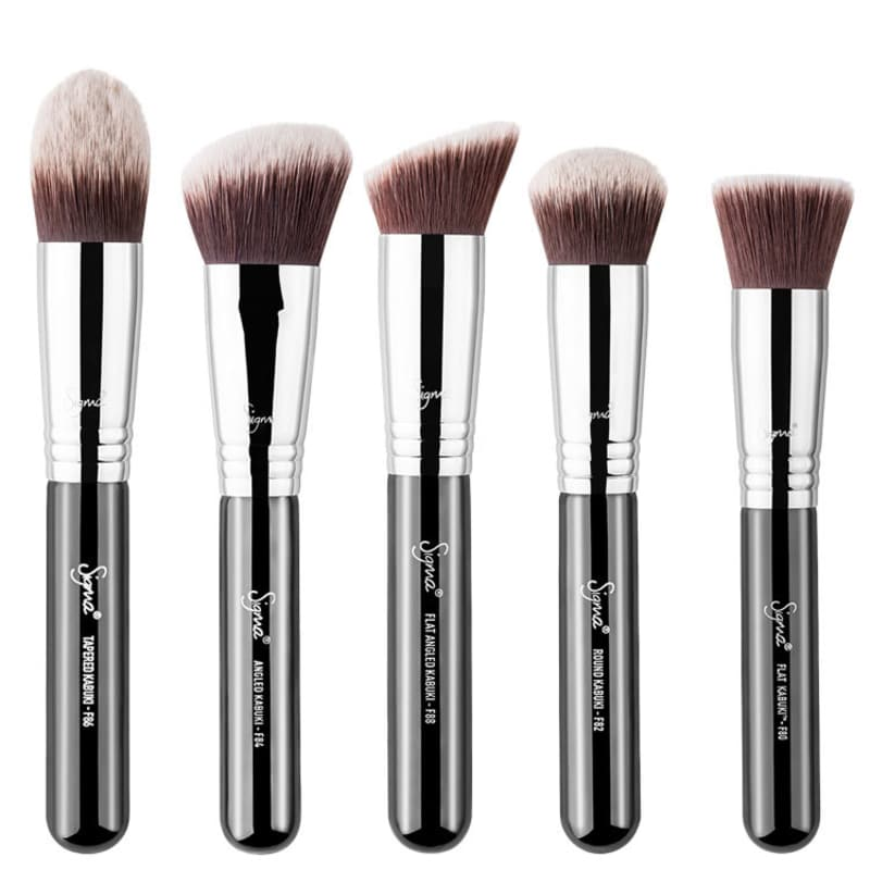 Kit de Pincéis Sigma Beauty Sigmax Kabuki (5 produtos)