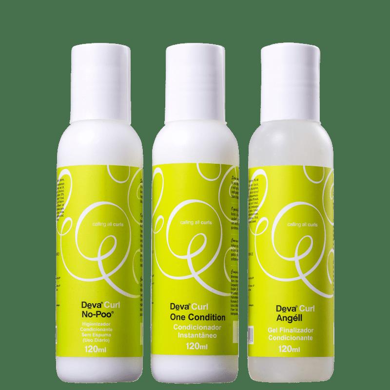Kit Deva Curl Curly Mini Transformação (3 Produtos)