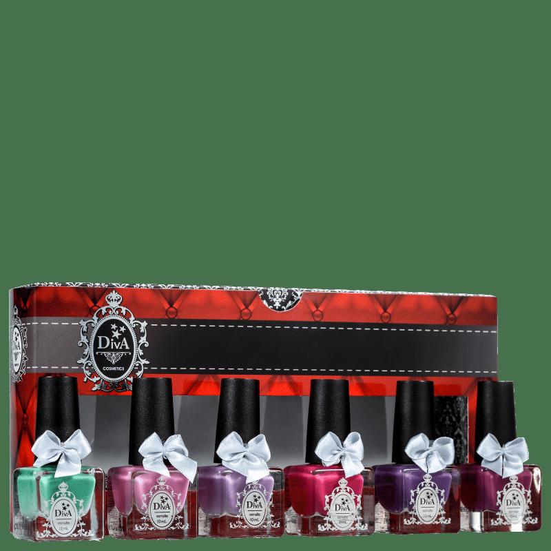 Kit Diva Cosmetics Jardim Primavera (6 Produtos)