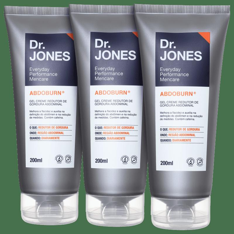 Kit Dr. Jones Abdoburn Triplo (3 produtos)