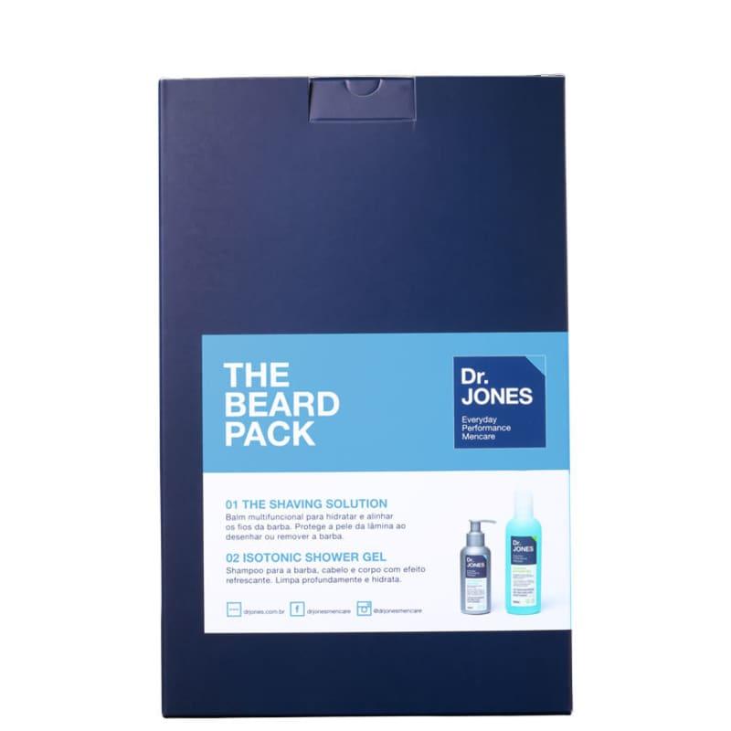 Kit Dr. Jones The Beard Pack (2 produtos)