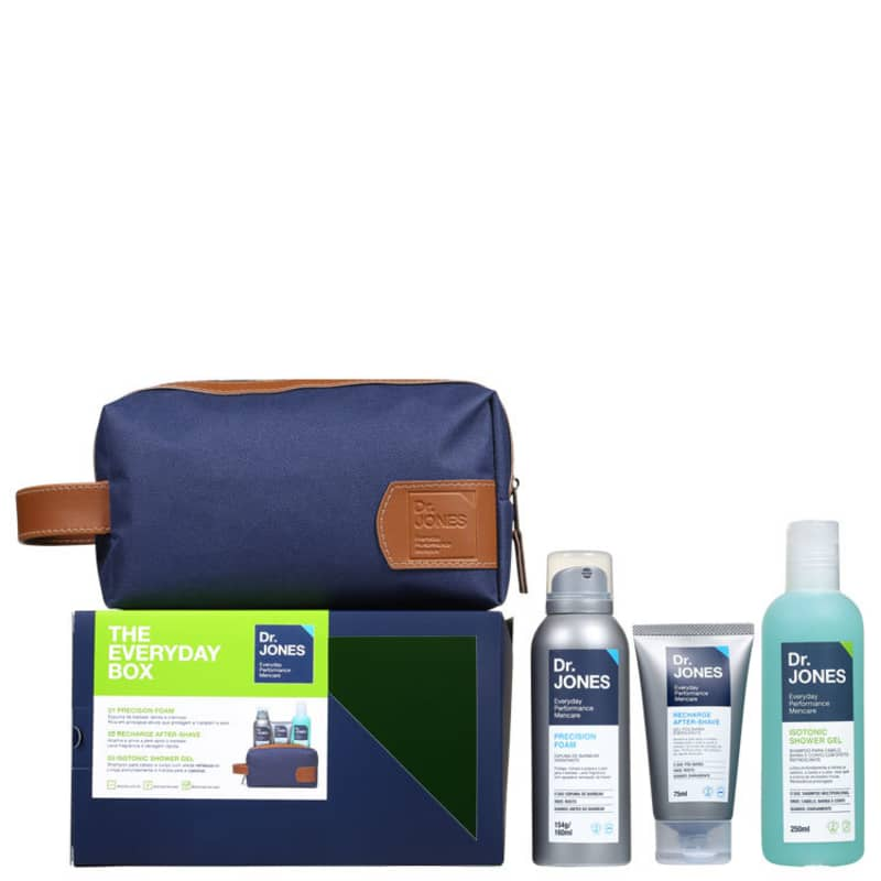 Kit Dr. Jones The Everyday Box (3 produtos + Nécessaire)