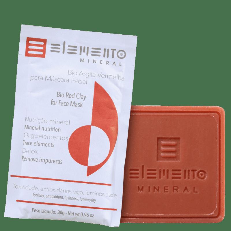 Kit Elemento Mineral Argila Vermelha Energizante (2 Produtos)