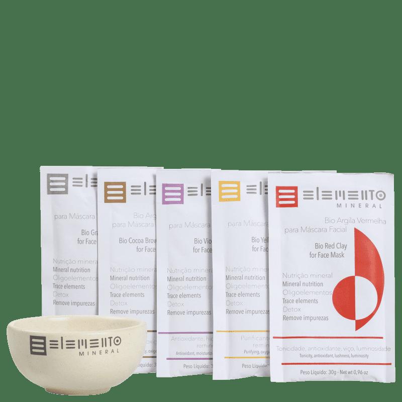 Kit Elemento Mineral Bio Argilas Revitalizante (6 produtos)