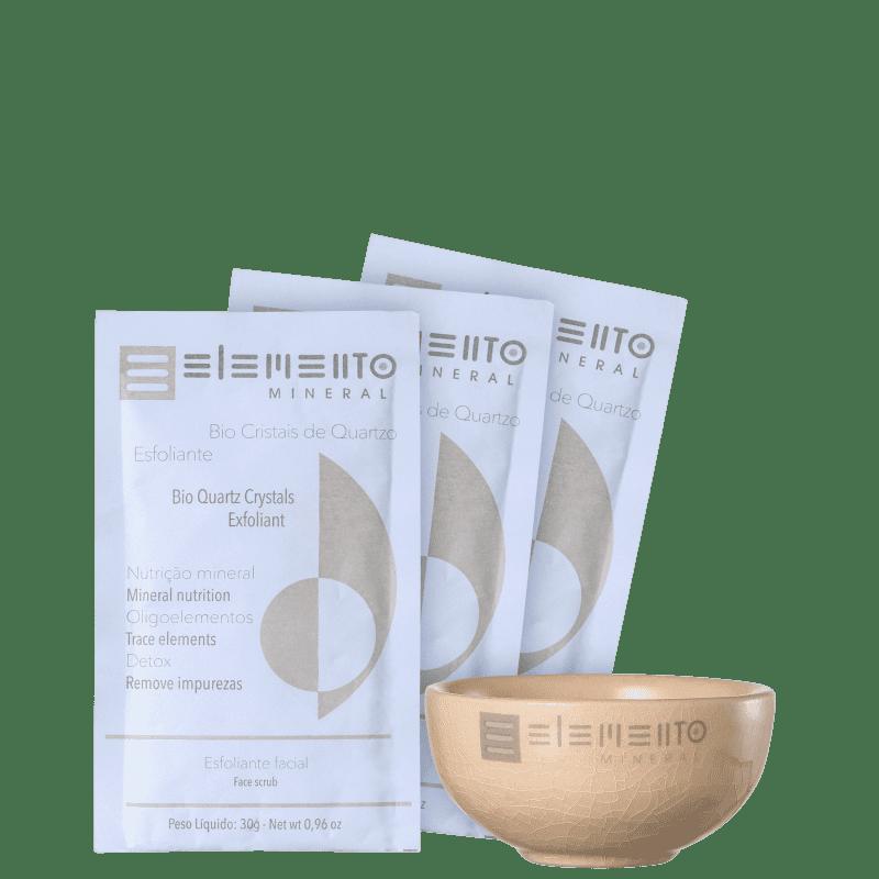 Kit Elemento Mineral Bio Cristais de Quartzo (4 produtos)
