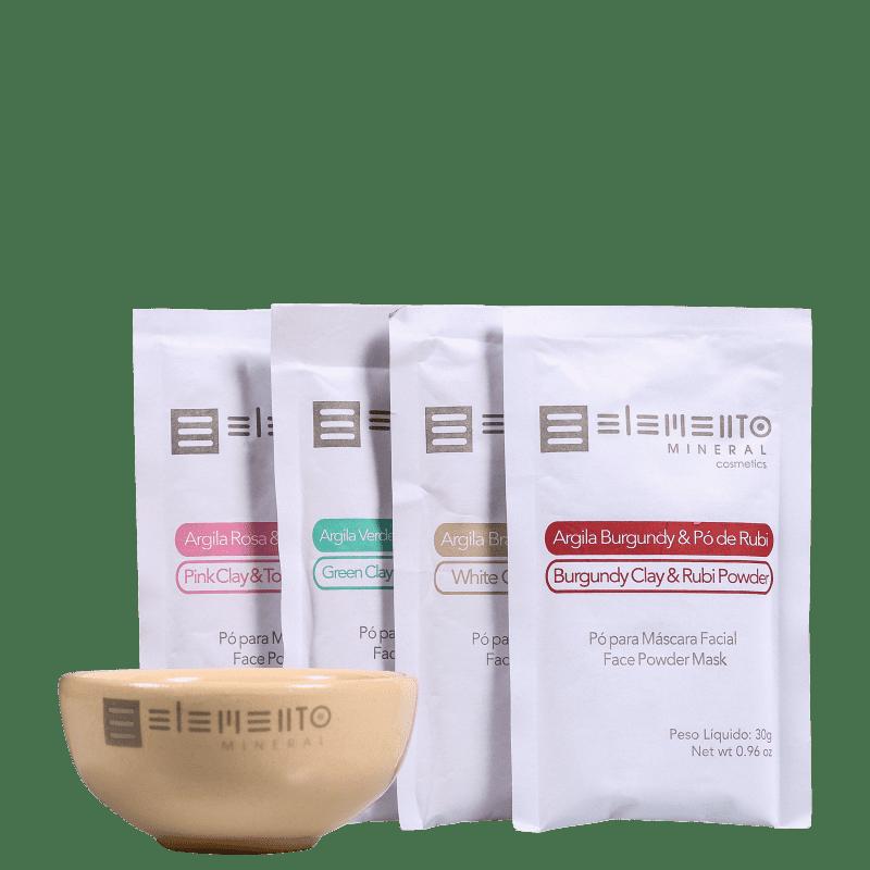 Kit Elemento Mineral Pedras Preciosas (5 produtos)