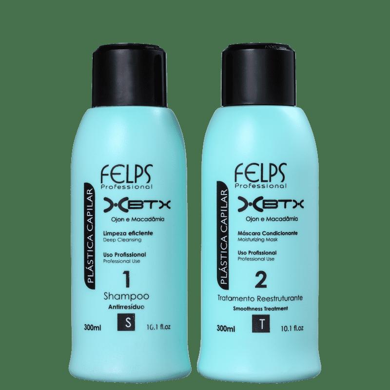 Kit Felps Profissional Plástica Capilar XBTX (2 Produtos)