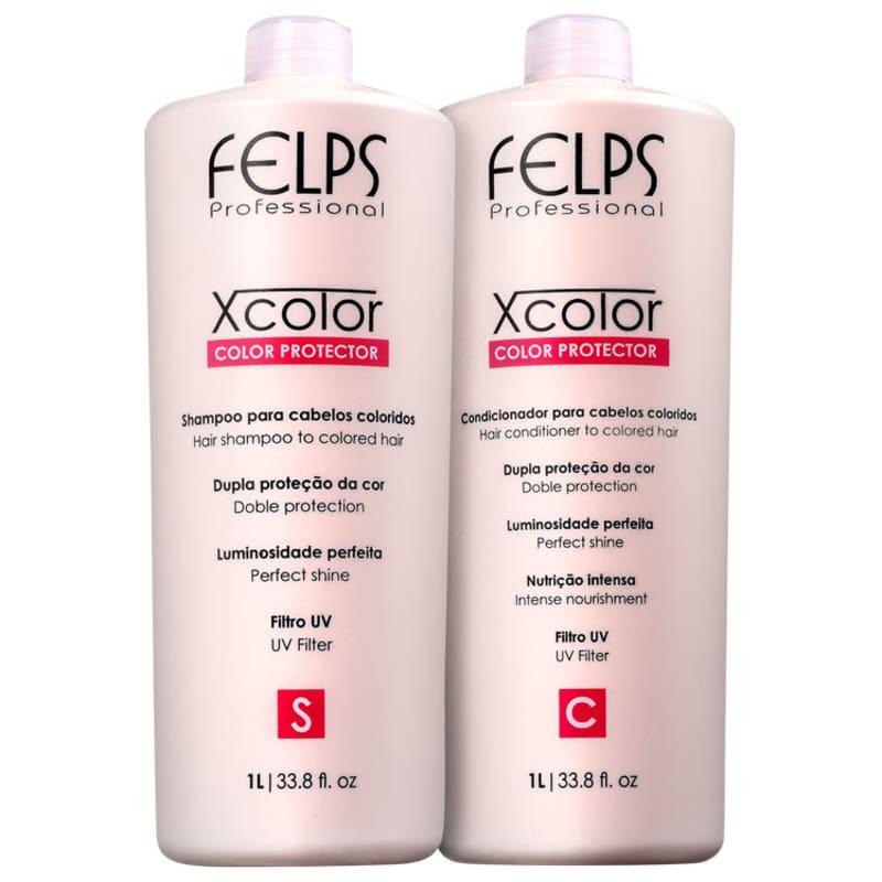 Kit Felps Profissional XColor Salon Duo (2 Produtos)