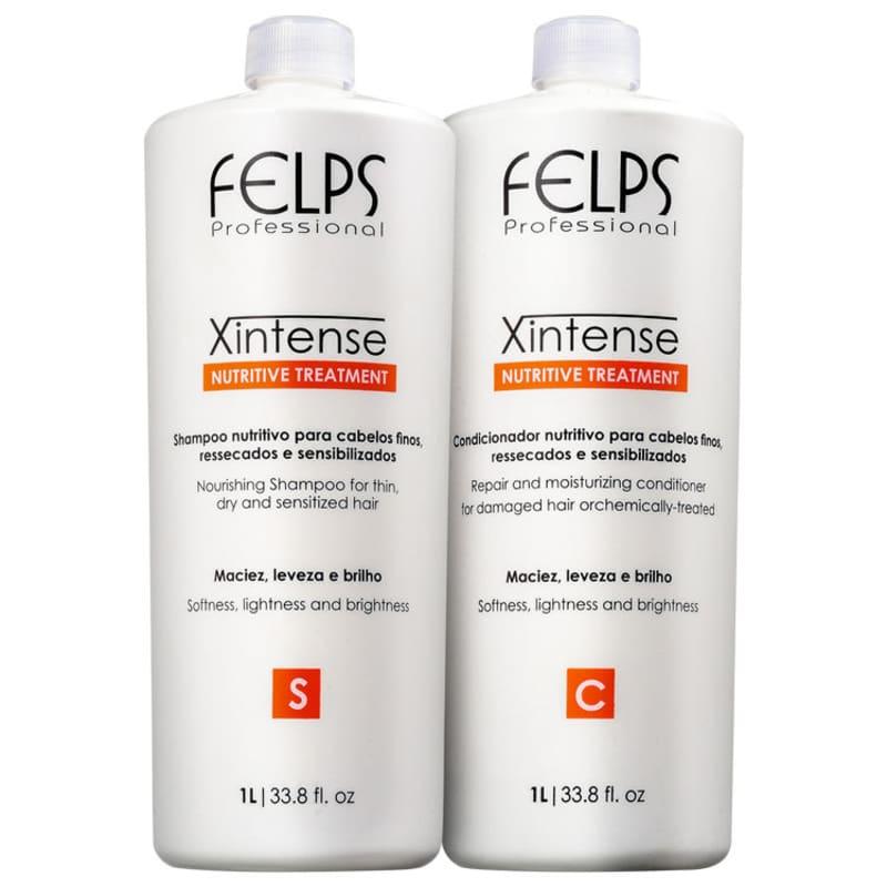 Kit Felps Profissional XIntense Nutritive Treatment Salon Duo (2 Produtos)