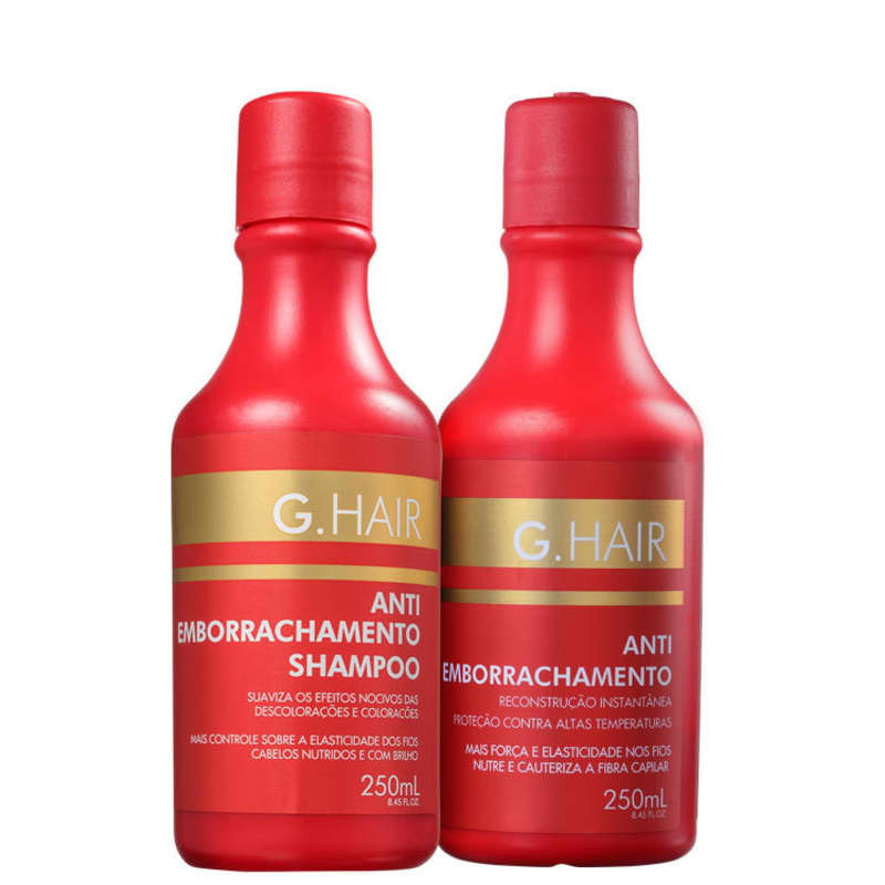 Kit G.Hair Antiemborrachamento Duo (2 Produtos)