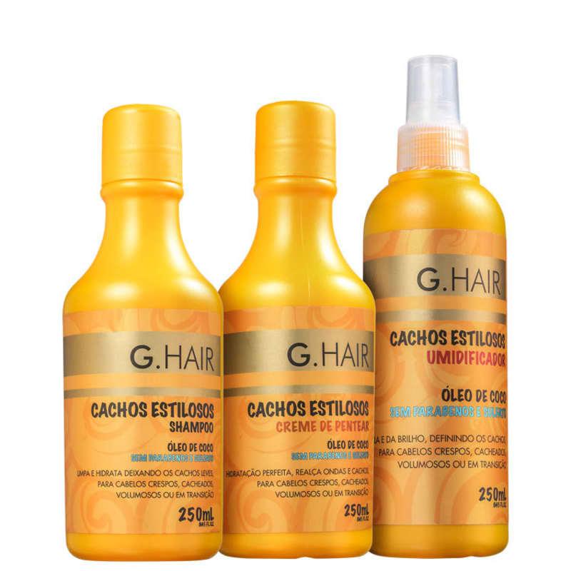 Kit G.Hair Cachos Estilosos (3 Produtos)