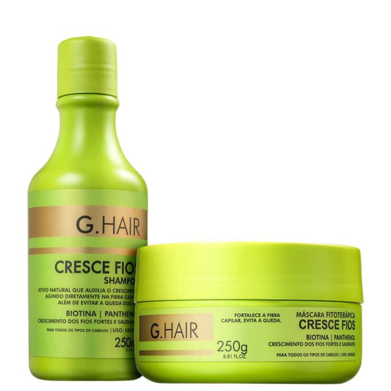 Kit G.Hair Cresce Fios (2 Produtos)