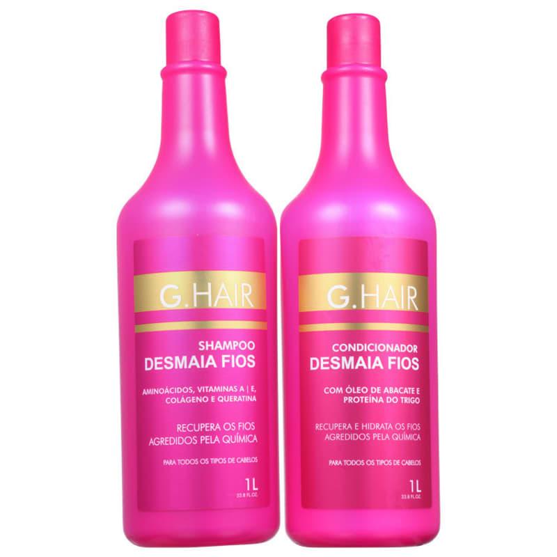 Kit G.Hair Desmaia Fios Salon Duo (2 Produtos)