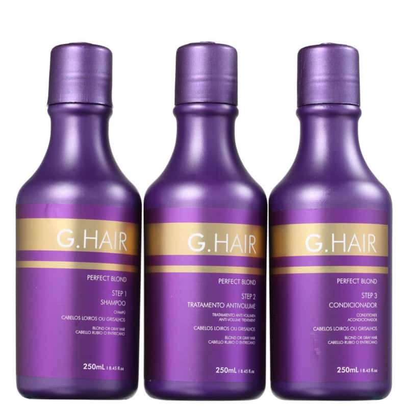 Kit G.Hair Perfect Blond Tratamento (3 Produtos)