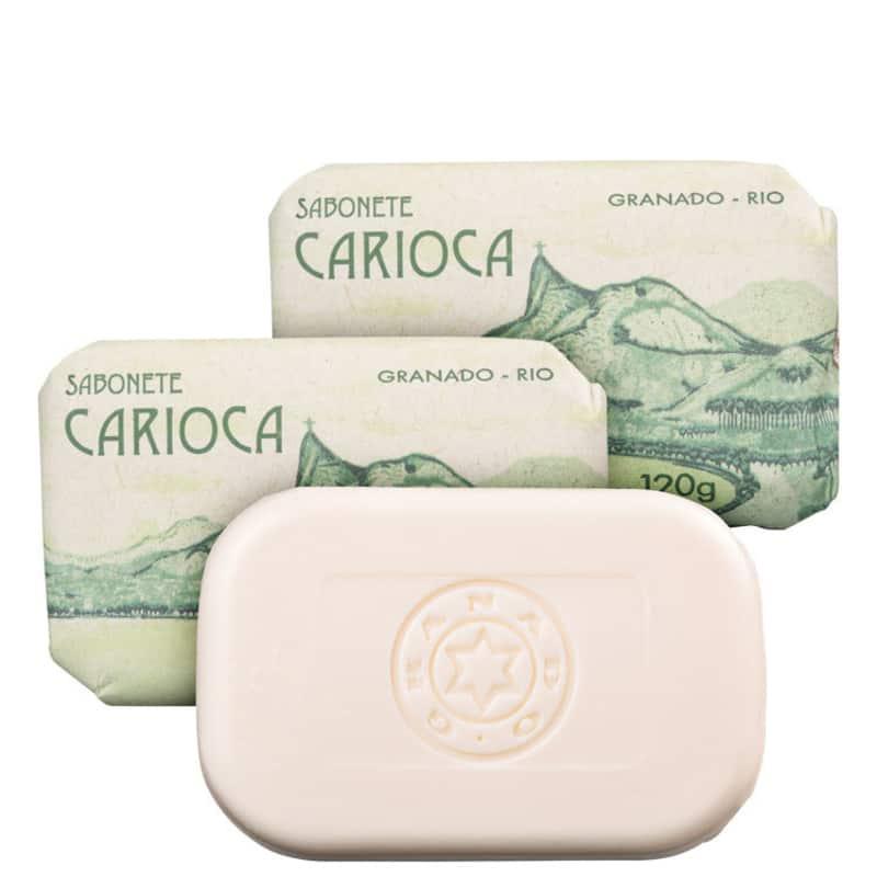 Kit Granado Carioca Banho - Sabonete em Barra 3x120g