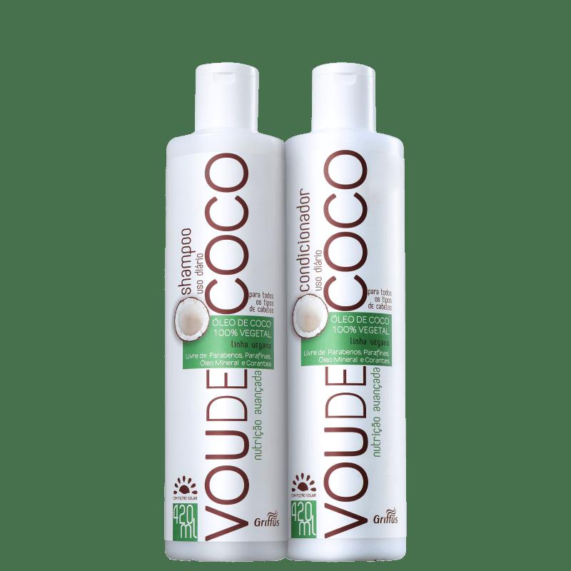 Kit Griffus Vou de Coco Duo (2 Produtos)