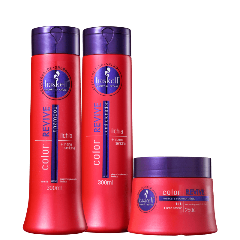 Kit Haskell Color Revive Tratamento (3 Produtos)