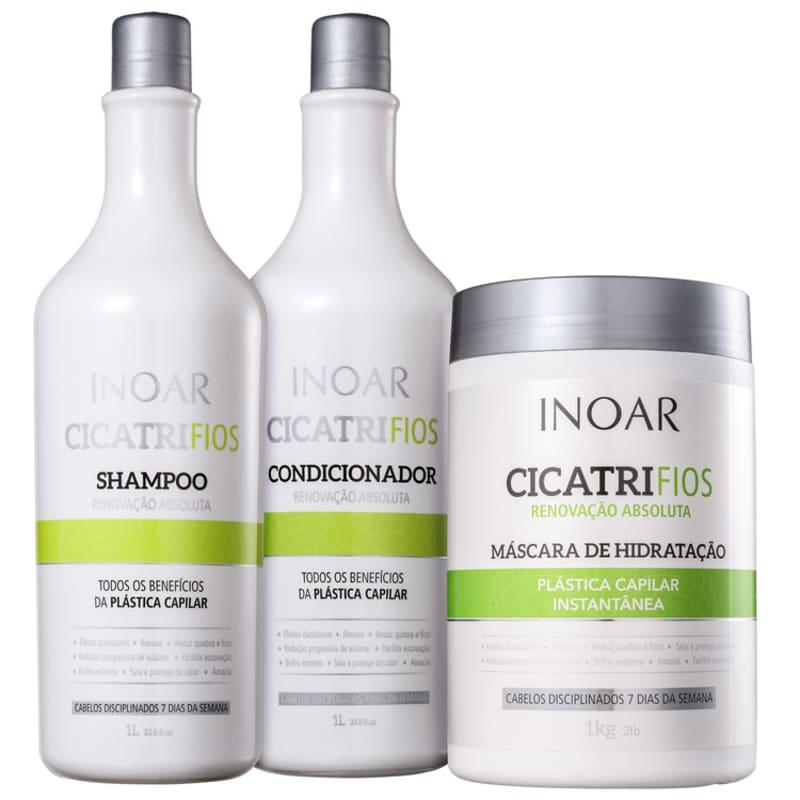 Kit Inoar Cicatrifios Salon Trio (3 Produtos)
