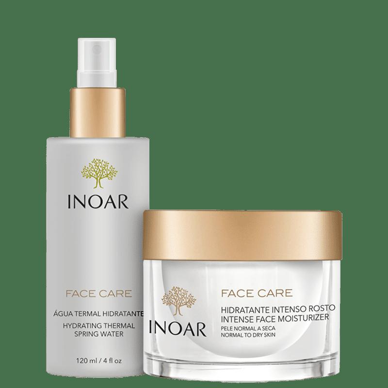 Kit Inoar Face Care Pele Normal a Seca (2 Produtos)