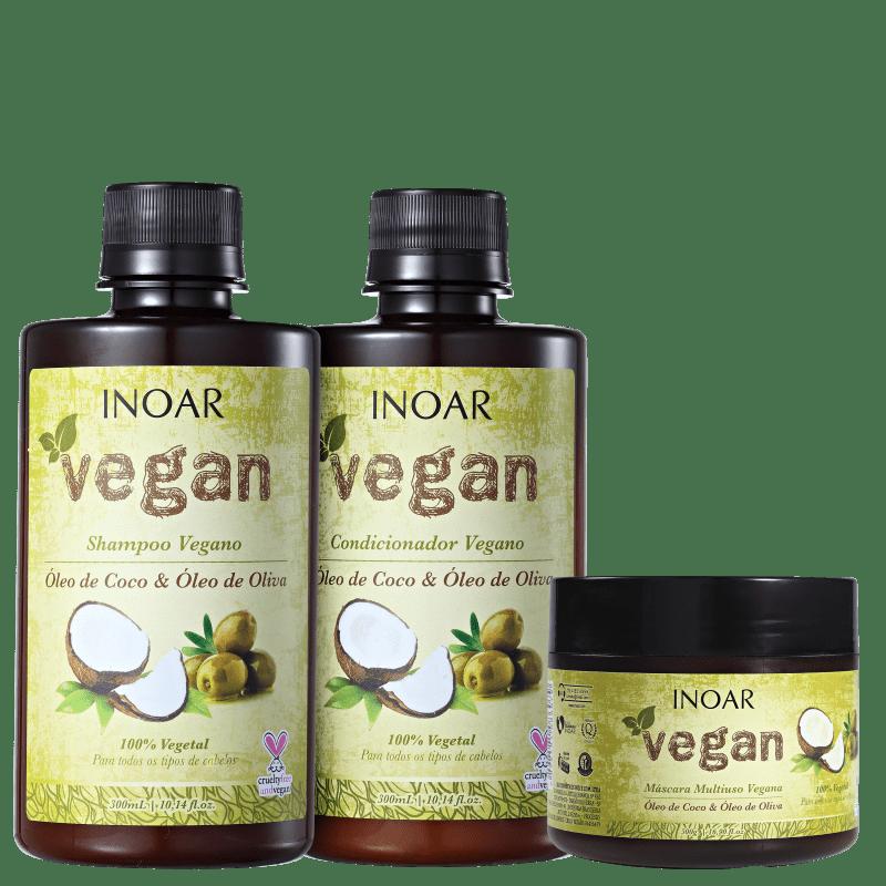 Kit Vegan Tratamento (3 Produtos)