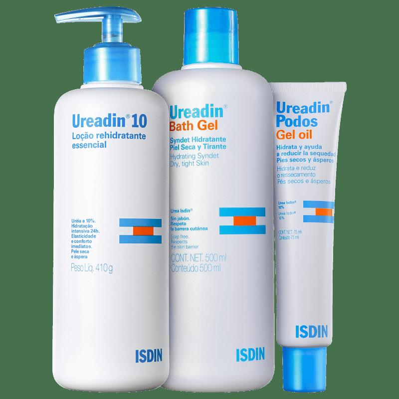 Kit ISDIN Ureadin Hidratação Pele Seca (3 produtos)