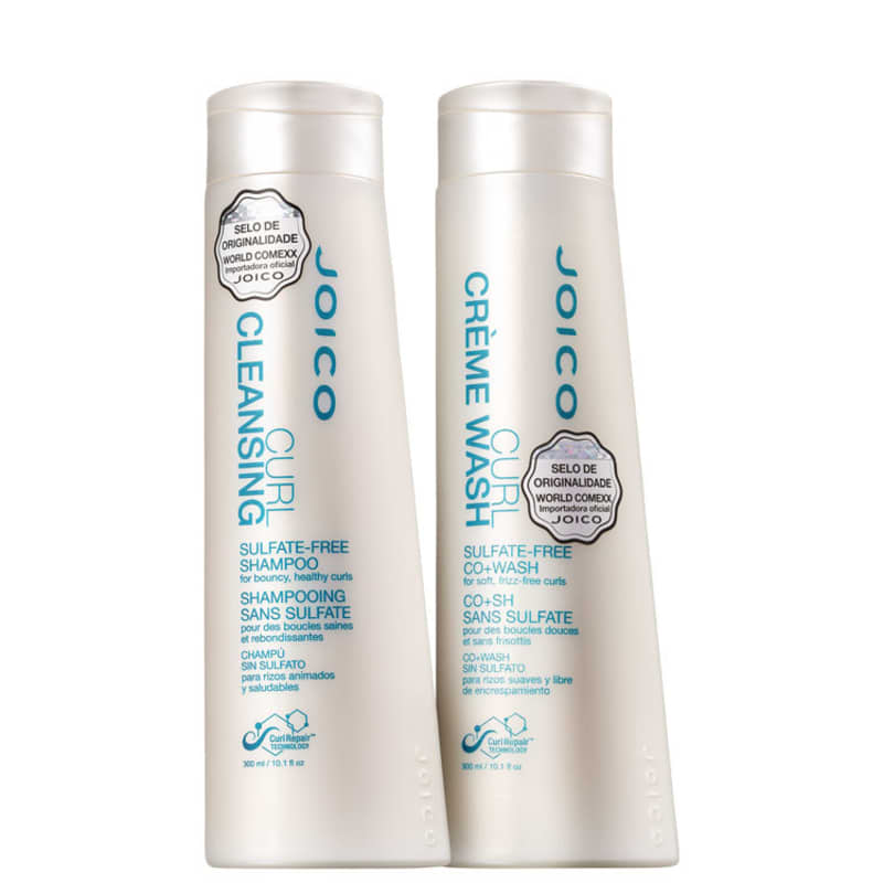 Kit Joico Curl Cleansing Co+Wash Limpeza (2 Produtos)