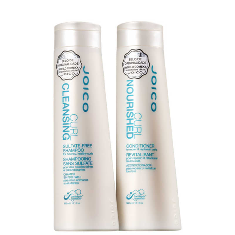 Kit Joico Curl Cleansing Nourished Duo (2 Produtos)