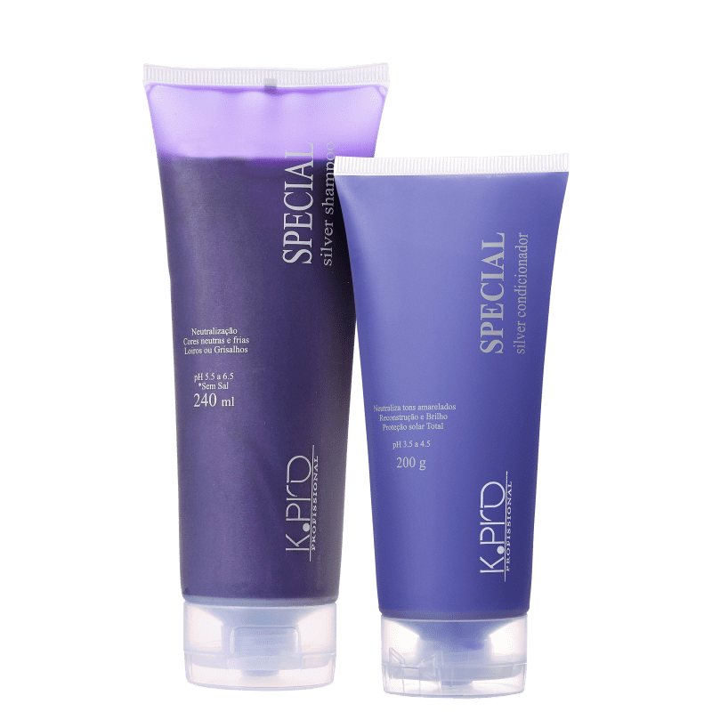 Kit K.Pro Special Silver Blond Special Silver Duo (2 Produtos)