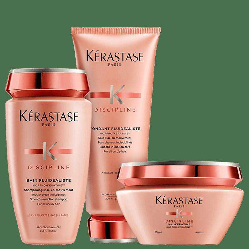 Kit Kérastase Discipline Trio (3 Produtos)