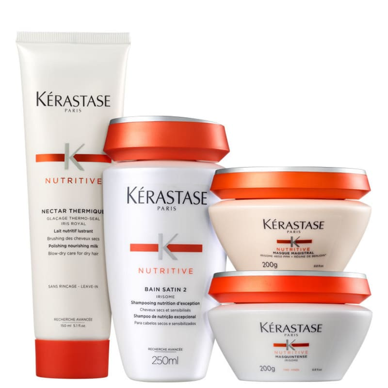 Kit Kérastase Nutritive Protocole Immunité Fins (4 Produtos)