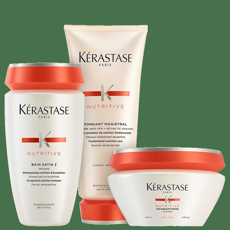 Kit Kérastase Nutritive Satin Epais (3 produtos)