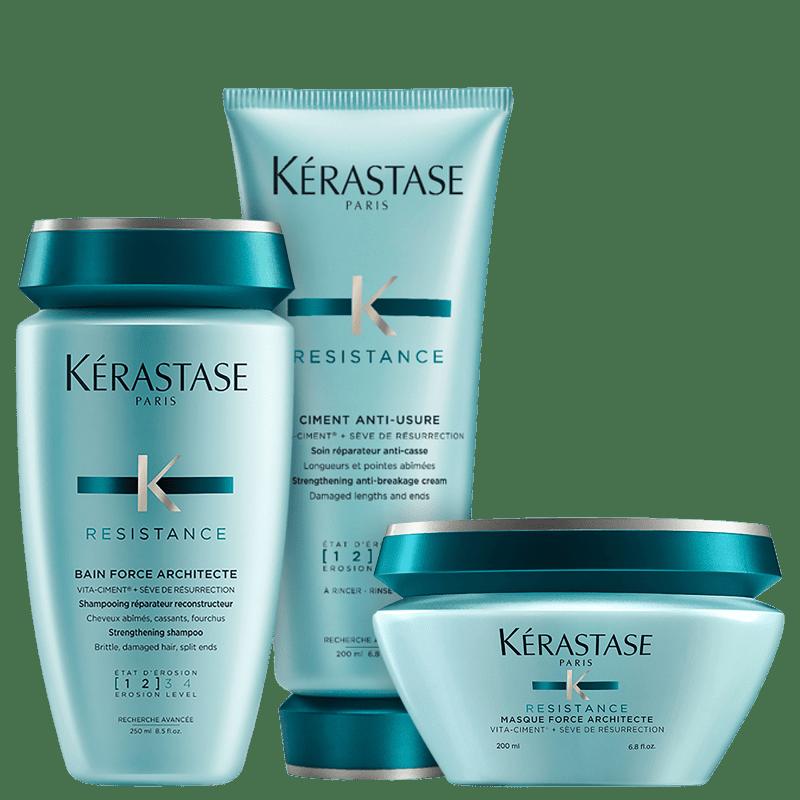 Kit Kérastase Résistance Force (3 Produtos)