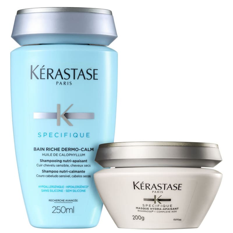 Kit Kérastase Spécifique Riche Dermo-Calm Duo (2 Produtos)