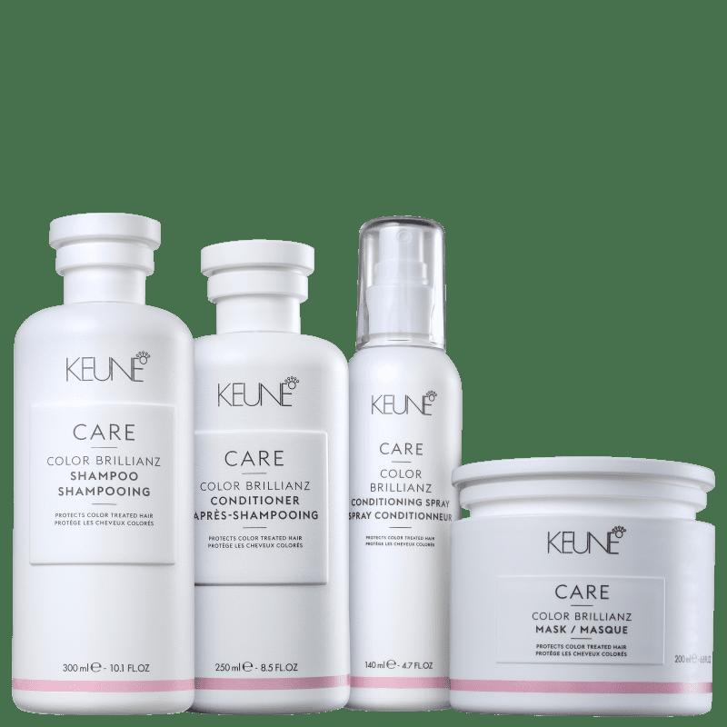 Kit Keune Care Color Brillianz Cuidado Completo (4 Produtos)