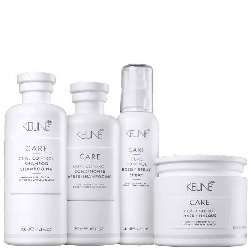 Kit Keune Care Curl Control Completo (4 Produtos)