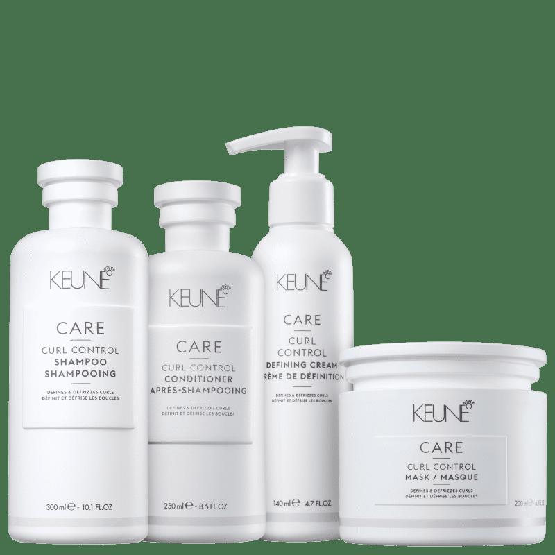 Kit Keune Care Curl Control Definição Total (4 Produtos)